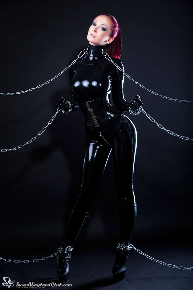 Latex bondage films