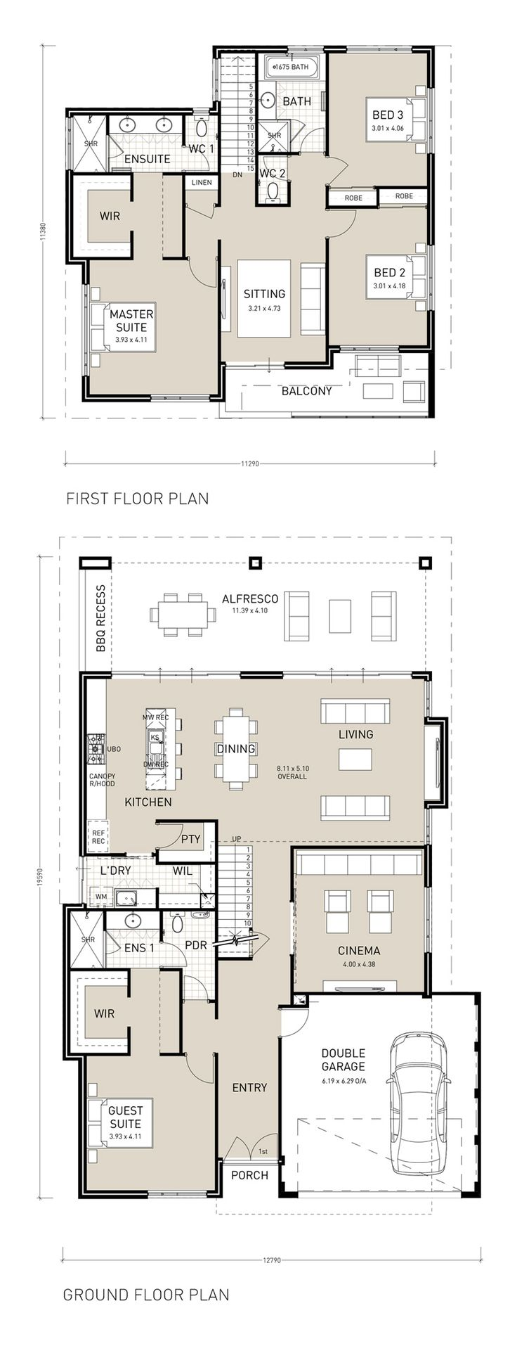 31 best reverse living house plans images on pinterest Reverse living house plans
