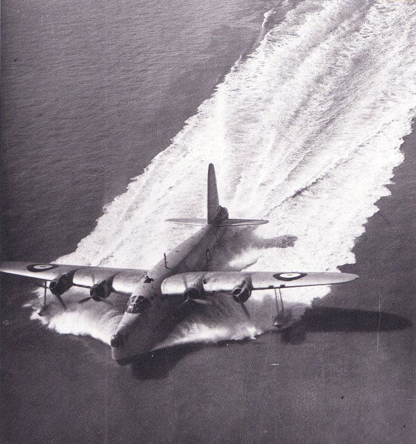 Short Sunderland I. RAF flying boat