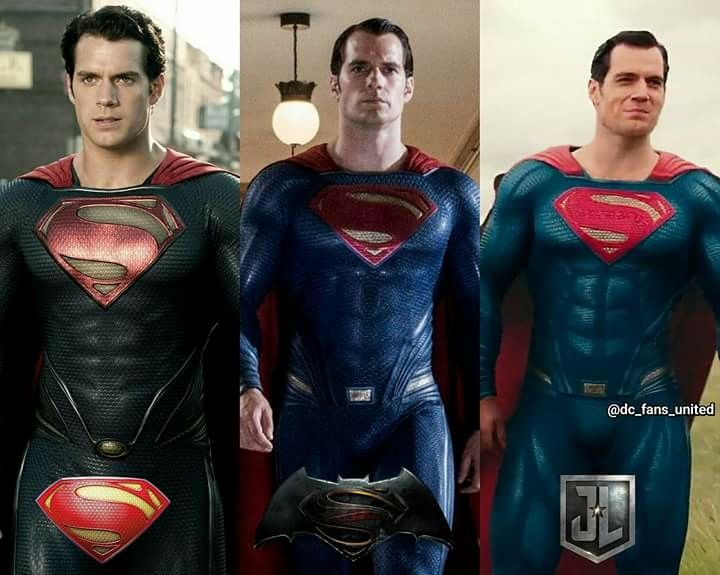 Which is your favorite Superman suit ? Made by : DC Fans United