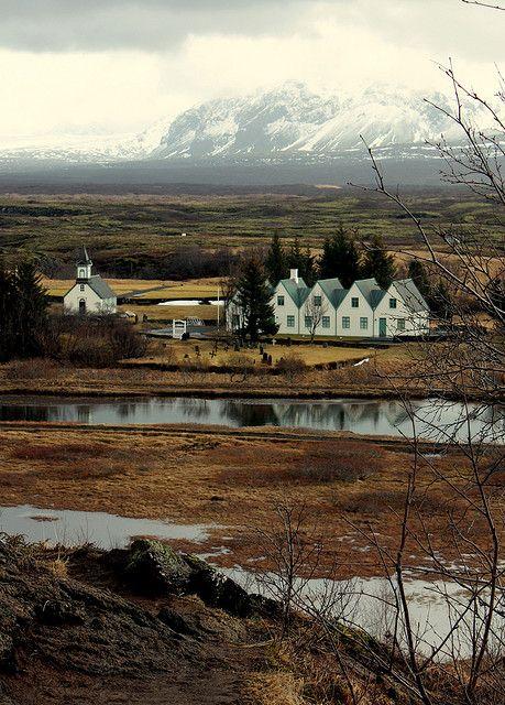 Thingvellir National Park- Day 2 SFV; Site of the Althingi at Thingvellir (world's oldest parliament founded 920 AD).