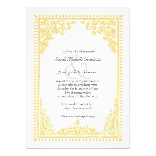 17 Best Images About Low Cost Wedding Invitations On