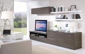 modern composition wall units
