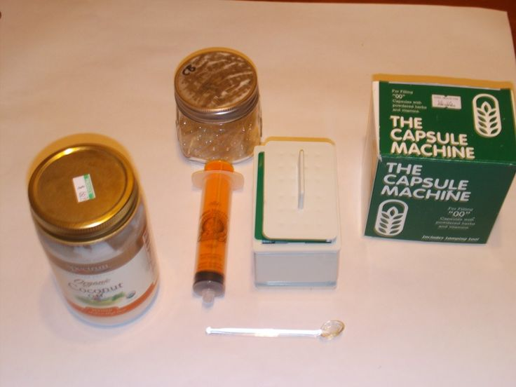 Cannabis Infused Coconut Oil & Marijuana Capsules