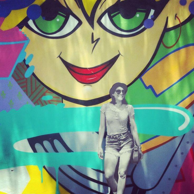Funky Miami Wall Art Vignette - Wall Art Design - leftofcentrist.com