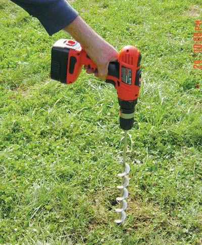 Garden Auger Drill Bit