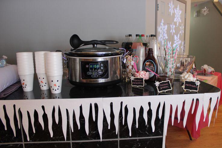 Hot chocolate bar winter ONEderland