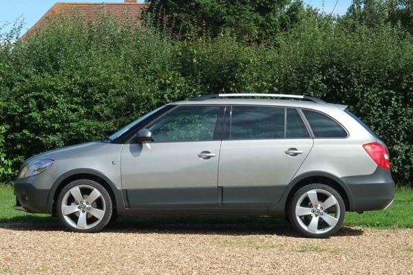 Skoda Fabia Estate Scout : Still full of lovely stuff... #Skoda #Fabia #carreview #car #review