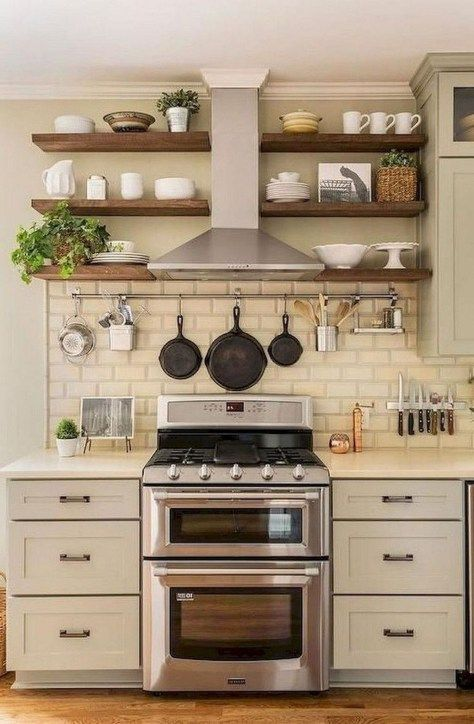 Stunning Small Farmhouse Kitchen Decor Ideas Best For Your Design 07
