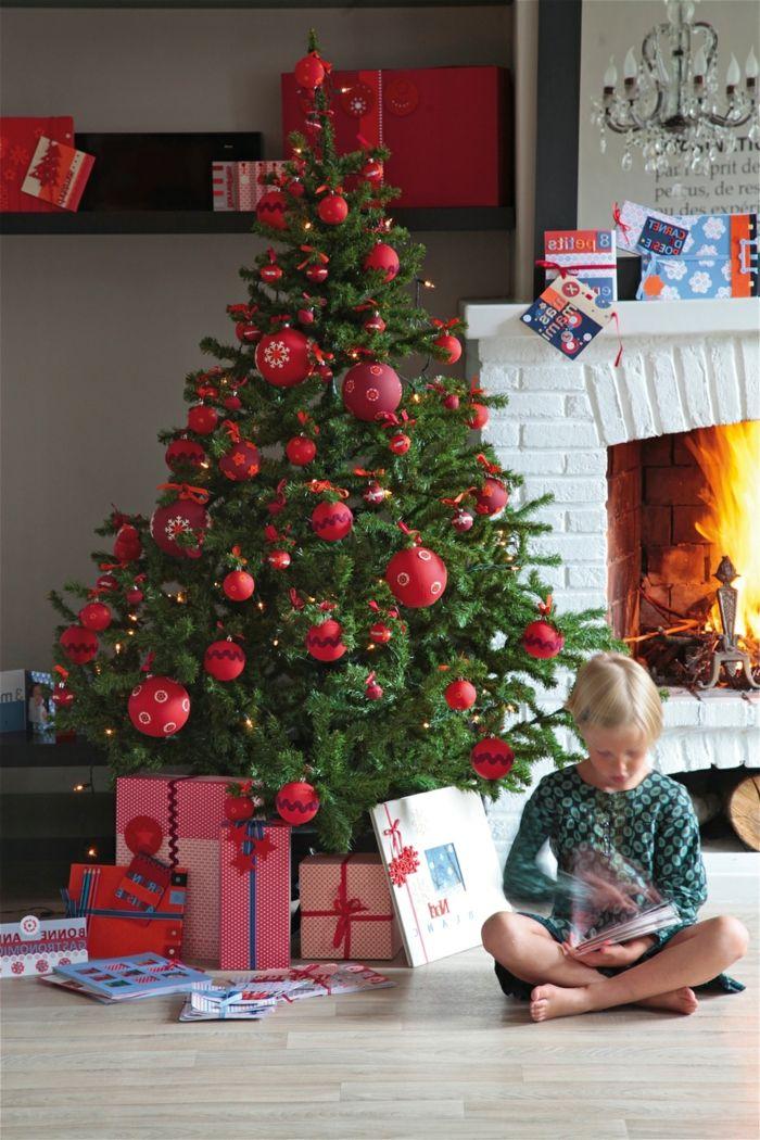 1001 Ideas Para Decorar Arbol De Navidad Con Mucha Clase Arboles De Navidad Decorados Decoracion De Arboles Decoracion En Rojo