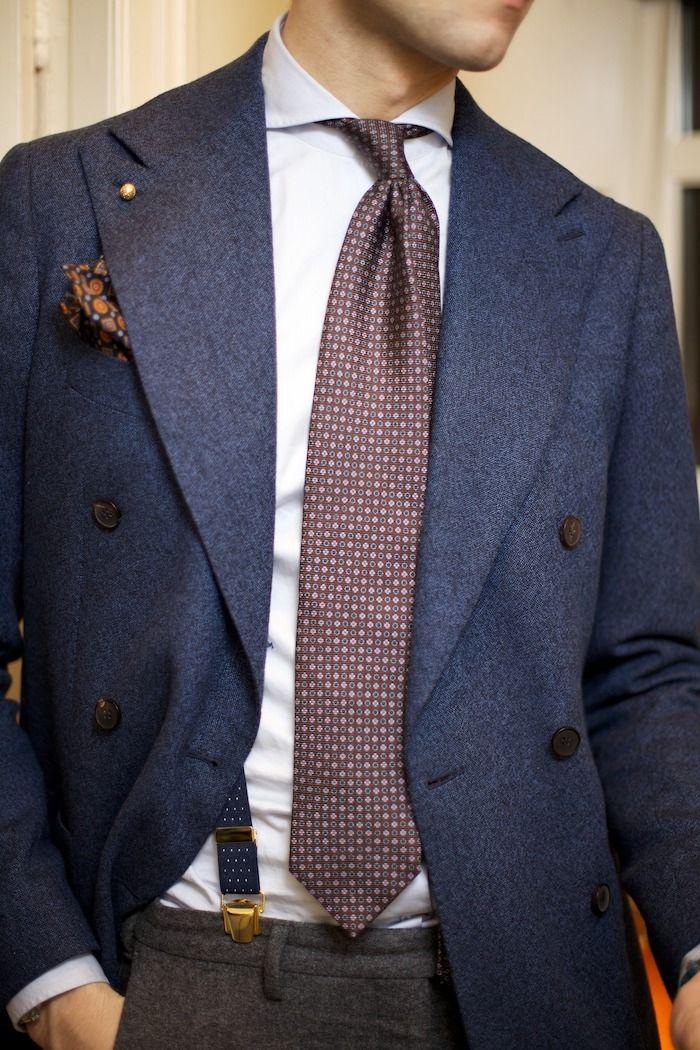 1001 Ideen Wie Blauer Anzug Braune Schuhe Und Passende