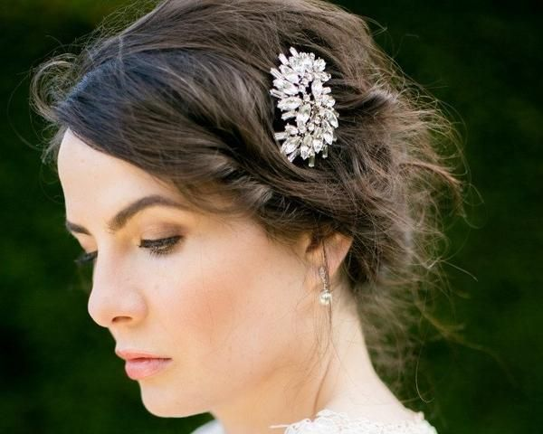 Wedding Hair Combs - Art Deco Inspired Wedding Hair Comb, Robyn
