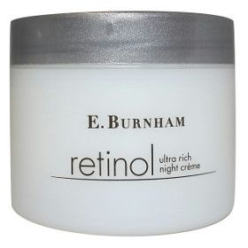 Retinol Ultra Rich Night Créme - 1.7/8 Oz. - This intensified ultra rich formula provides a deeply penetrating and moisturizing créme for your skin. It helps to restore the moisture to your skin while you sleep, an important restorative period for skin renewal.