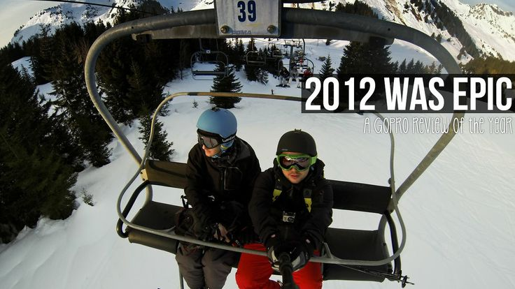 2012 was epic (GoPro review of the year edit)