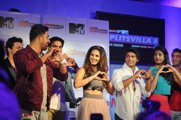 MTV Splitsvilla 8, Sunny Leone at the press conference of MTV Splitsvilla 8, press conference of MTV Splitsvilla 8, Sunny Leone, Ranvijay Singh, sunny leone movies, mtv reality show, mtv splitsvilla 8