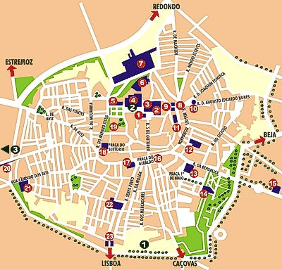 Evora - Portugal - Alentejo - The City