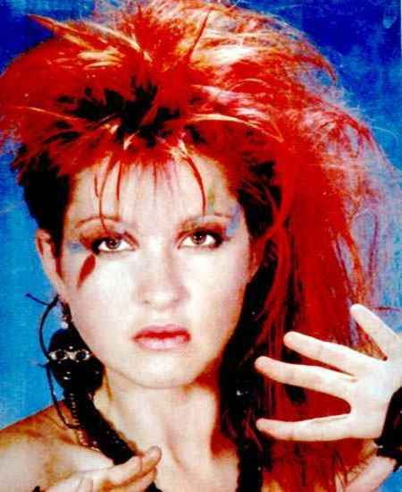 Cyndi was one of my favorites -- especially that wacky hair
