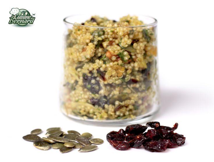 Quinoa aux fruits secs
