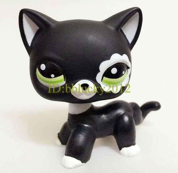 Lps Littlest Pet Black Cat Collection Child Girl Boy Figure Toy