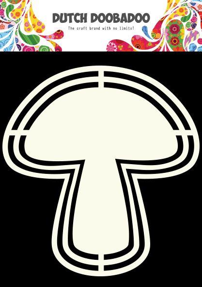 470.713.124 Dutch Doobadoo Shape Art Paddestoel