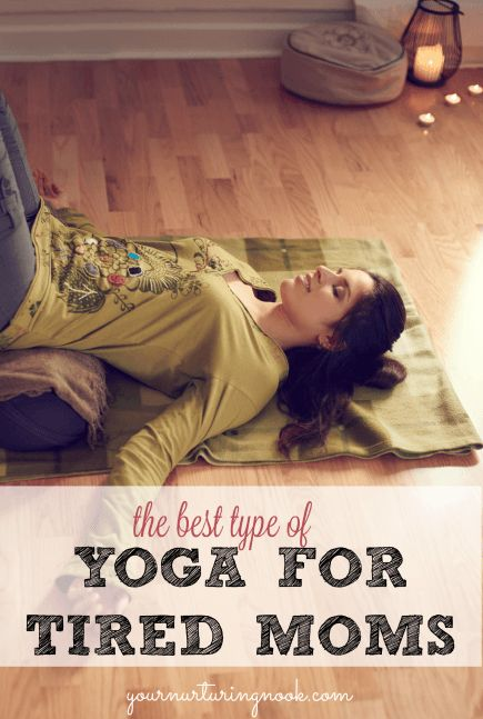 Restorative yoga is the perfect remedy for tired moms, especially at this time of the year. Winter is historically supposed to be the time of slowing down and hibernating. Instead, we wear ourselves ragged preparing for Christmas, shopping, baking, and attending parties. Restorative yoga can counter all of this activity and put our bodies in touch with how were are supposed to feel during this dark, cold period of the year