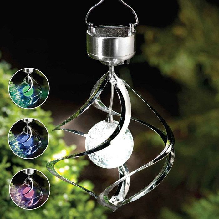 Pretty Solar Power Outdoor Lighting Of Chime