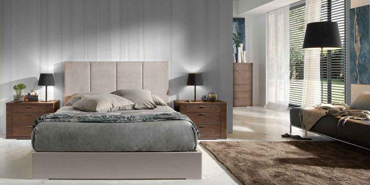 Dormitorios modernos awesome interiors pinterest dormitorios modernos dormitorio y moderno - Tapeten fur jugendzimmer ...