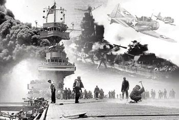 The Battle of Midway was the equalizer in the Pacific war. Photo courtesy of U.S. National Archives Collection.