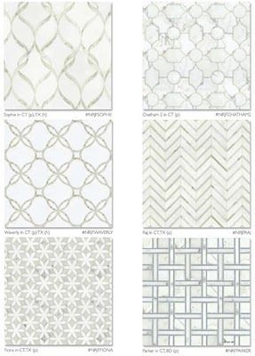 HallReady: The art of display. Ideas on what to exhibit and how to do it.: Studium Mosaic Tiles