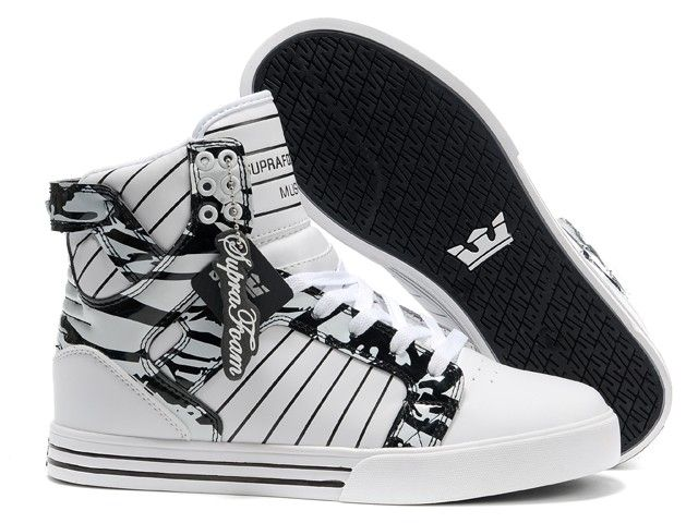 Cheap Supra Shoes For Sale, Justin Bieber Shoes USA Online Store Supra  Skytop Bright White Black Men's Shoes [Supra Skytop - - Cheap Supra Skytop  Bright ...