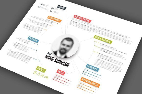 Modern Resume Template by Orson on @creativemarket