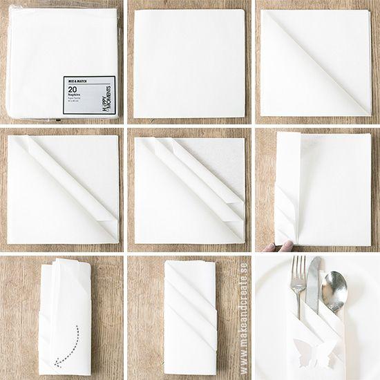 Vika servetter - Pyssel & pysseltips - Make & Create