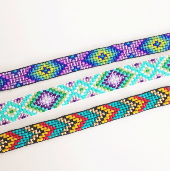 Custom Beaded Friendship Bracelet You door UnderThoseNeonLights