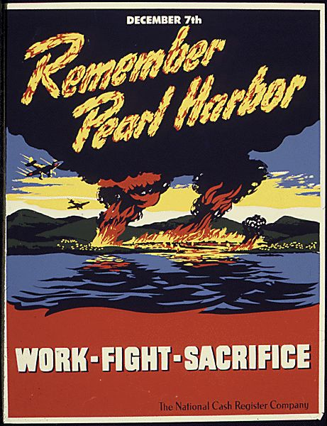 Pearl Harbor Posters from the National Archives