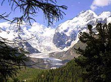 Piz Bernina & the Morteratsch Glacier ~ Switzerland