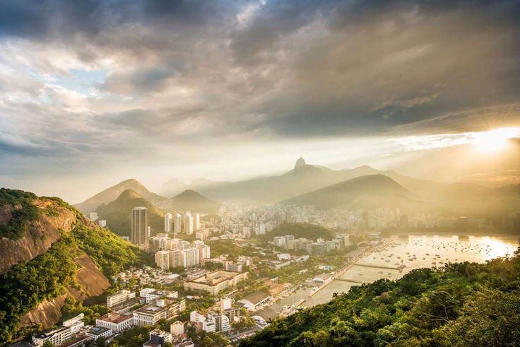 Todavía recuerdo la primera subida que realicé en teleférico a la montaña del Pan de Azúcar en Rio d... - Corbis. Texto: Ana Diaz-Cano