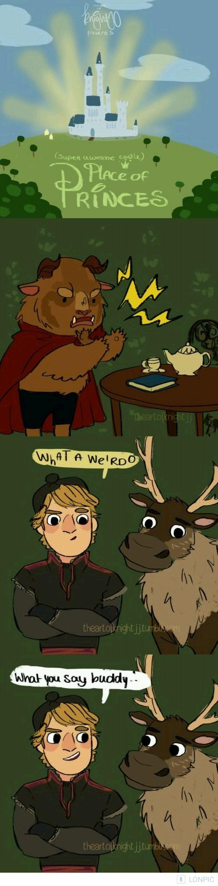 Weirdos...disney #princes