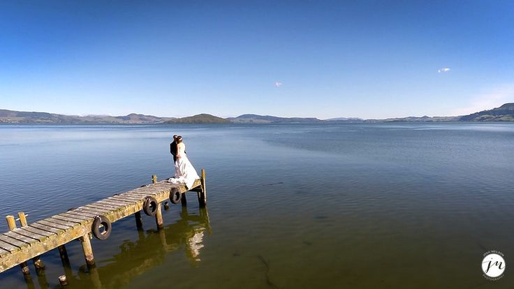 Rotorua Wedding - This was a screen shot from a video I shot with In The Frame for a wedding video.   For more info on drone photography check out www.joshneilson.com