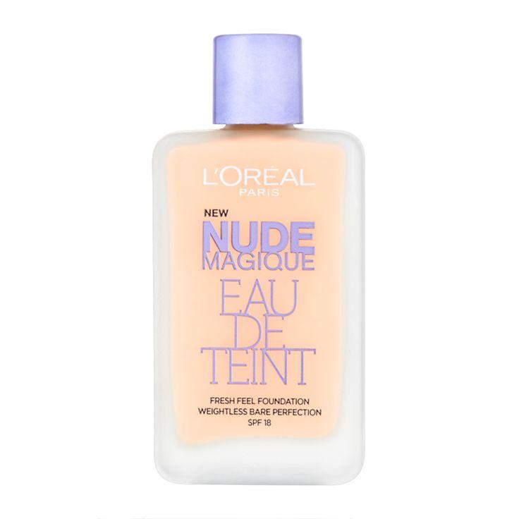 L'Oréal Paris Nude Magique Eau de Teint Foundation SPF 18 20ml - feelunique.com