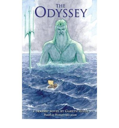 This looks cool. A graphic novel of The Odyssey.