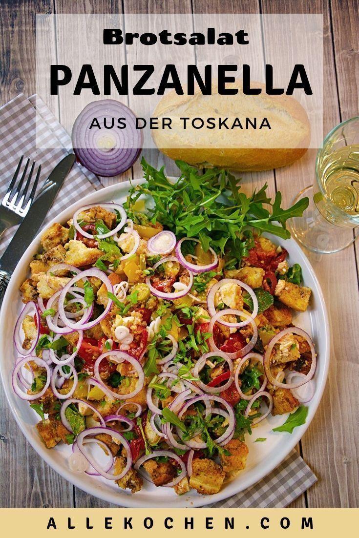 Toskanischer Brotsalat Panzanella – Vermeiden Sie Speisereste   – Rezeptideen