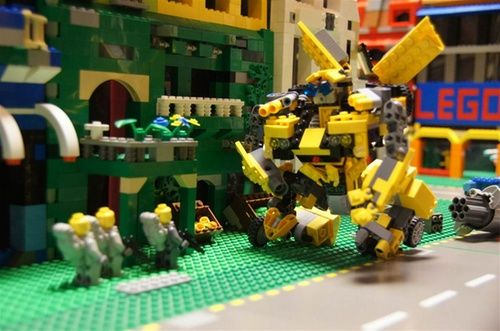 Lego Transformers Episode 001: A LEGO® creation by tformers3 - : MOCpages.com