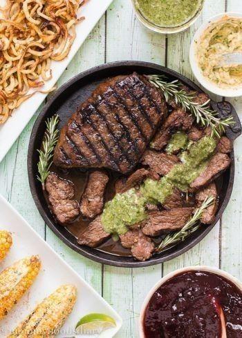 Grilled Balsamic-Garlic Steak