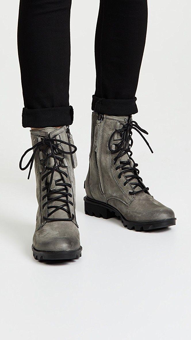 Sorel Phoenix Lace Boots   Boots, Lace
