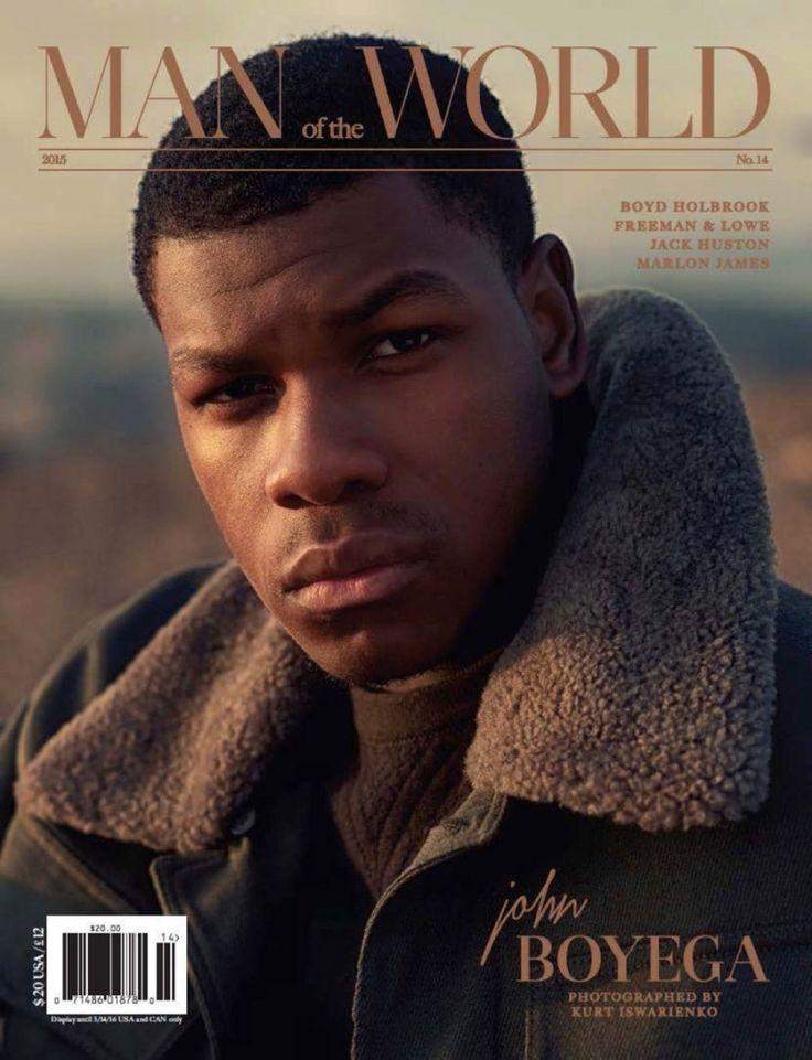 John Boyega Covers Man of the World, Grateful for Star Wars