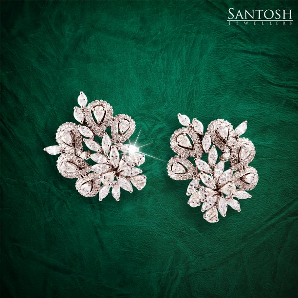Adorn these beautifully crafted diamond earrings and capture a moment in time…