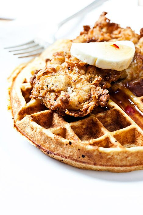 Chicken and waffles at the Gin Joint182 East Bay St
