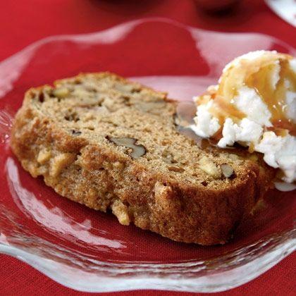 Double Apple Walnut Cake Recipe — Dishmaps