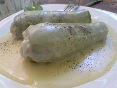 Κολοκυθάκια γεμιστά με κιμά και κρέμα αυγολέμονο! ~ ΜΑΓΕΙΡΙΚΗ ΚΑΙ ΣΥΝΤΑΓΕΣ