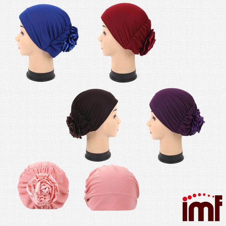 OverSized Flower Muslim Hijab Fashion Malaysia Hat